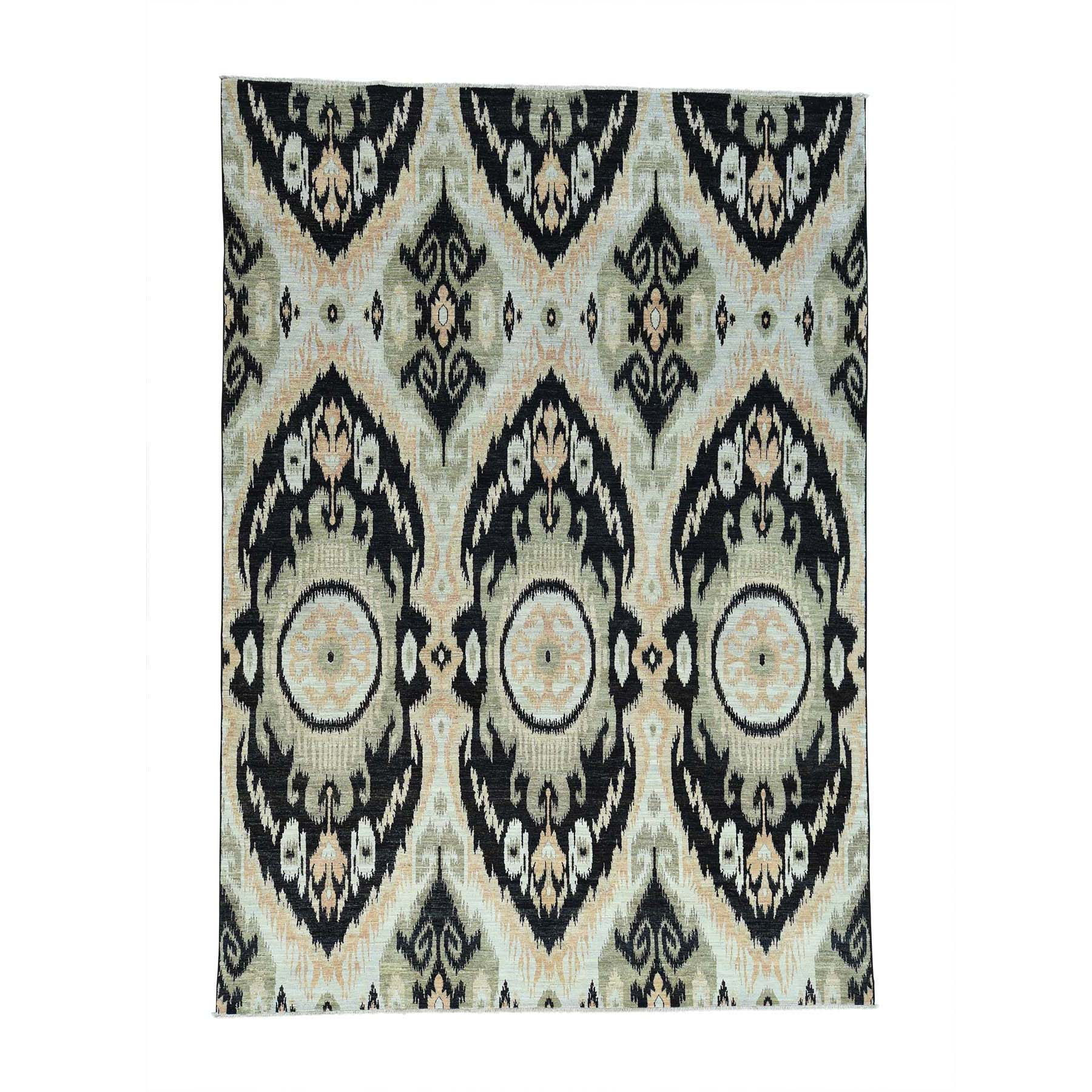 ikat and suzani design rugs LUV303993