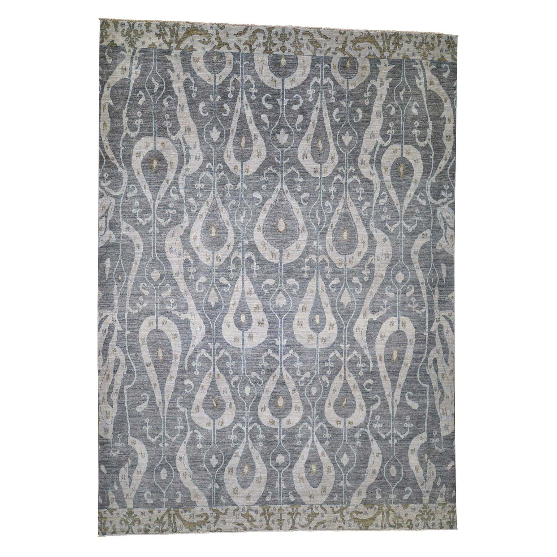 ikat and suzani design rugs LUV403074