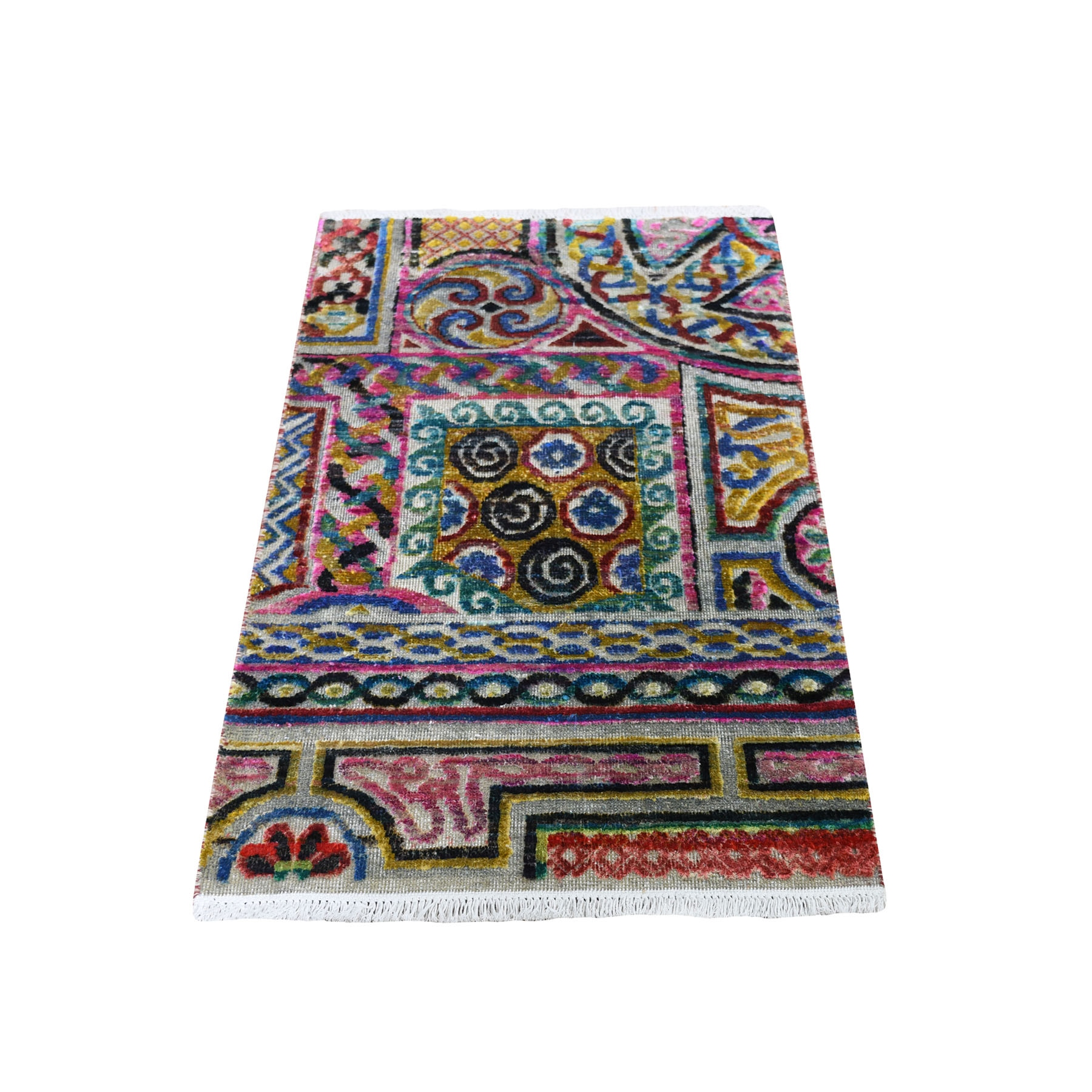 wool and silk rugs LUV422622