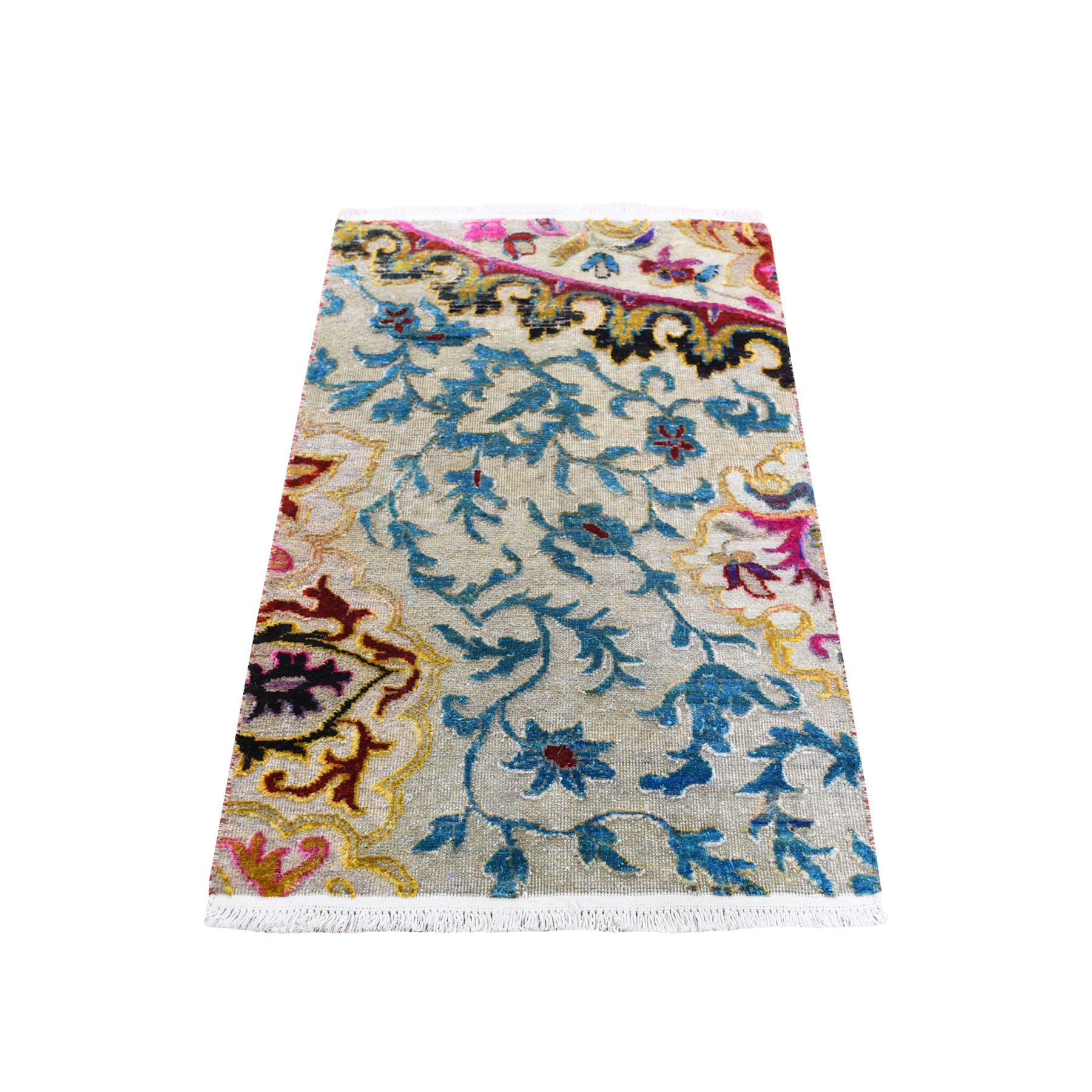 wool and silk rugs LUV422649