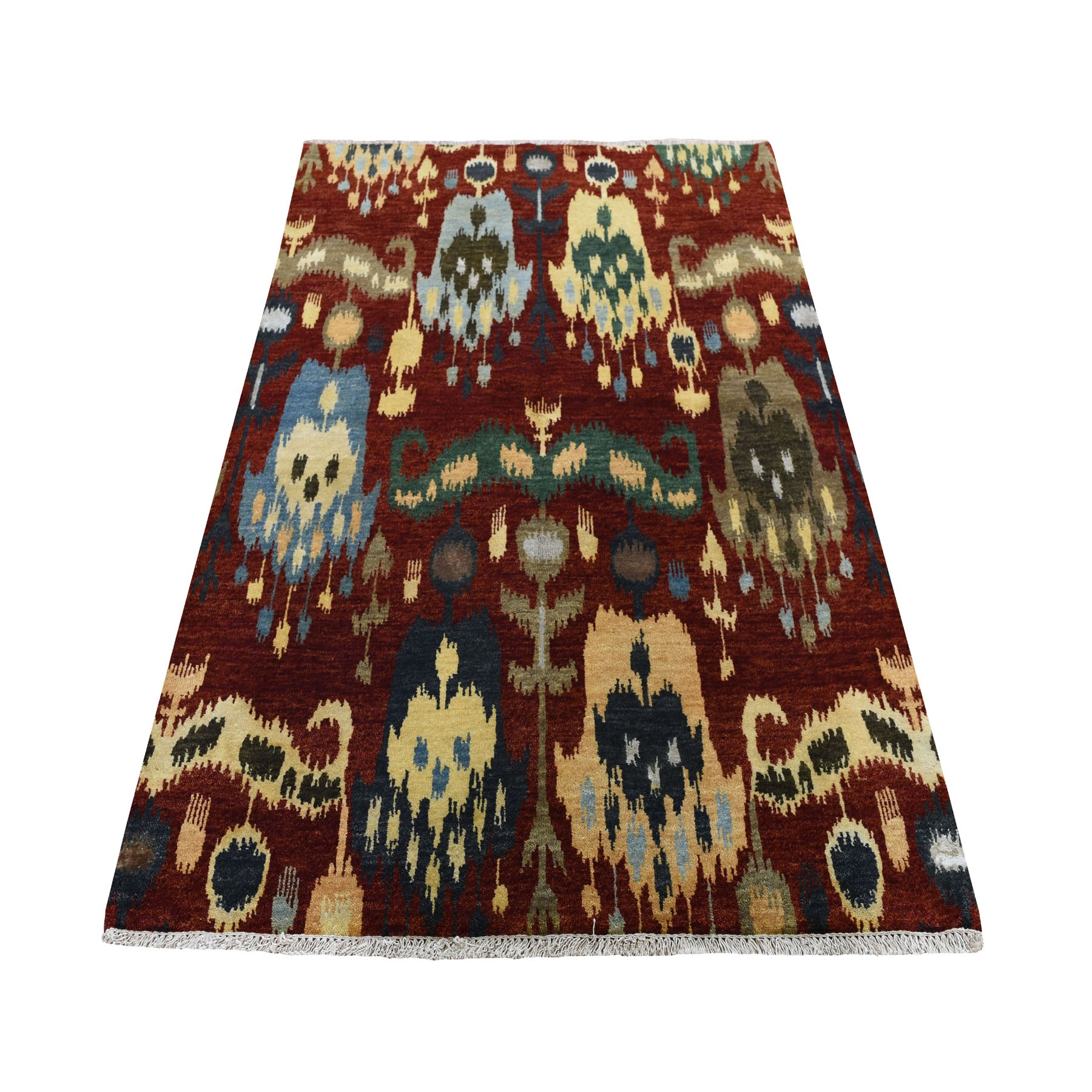 ikat and suzani design rugs LUV423360