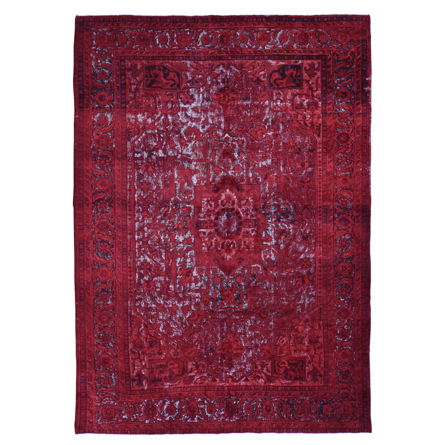 overdyed & vintage rugs LUV441279