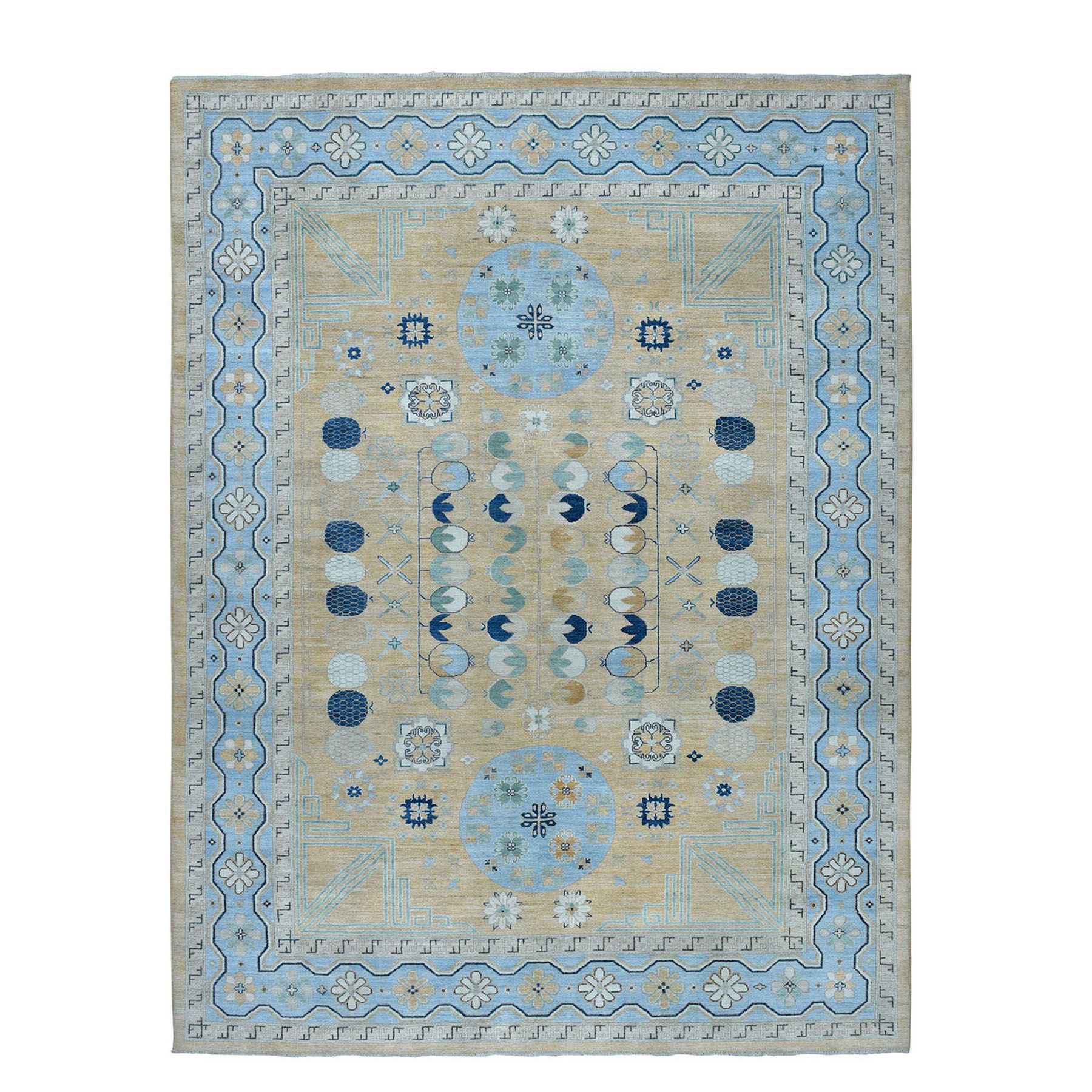 khotan and samarkand rugs LUV455112