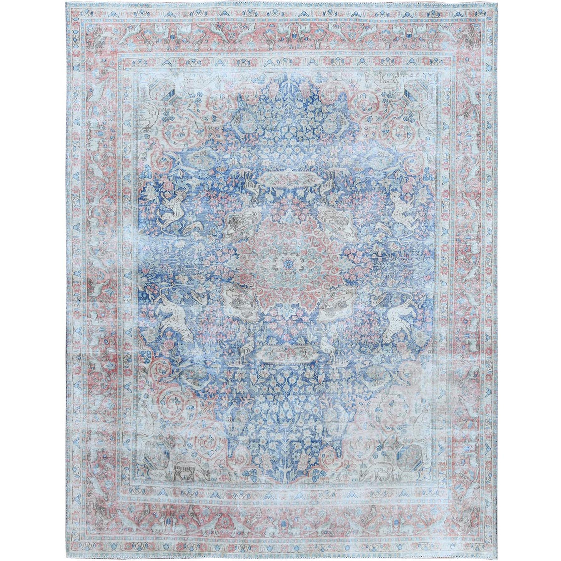 Overdyed & Vintage Rugs LUV543672