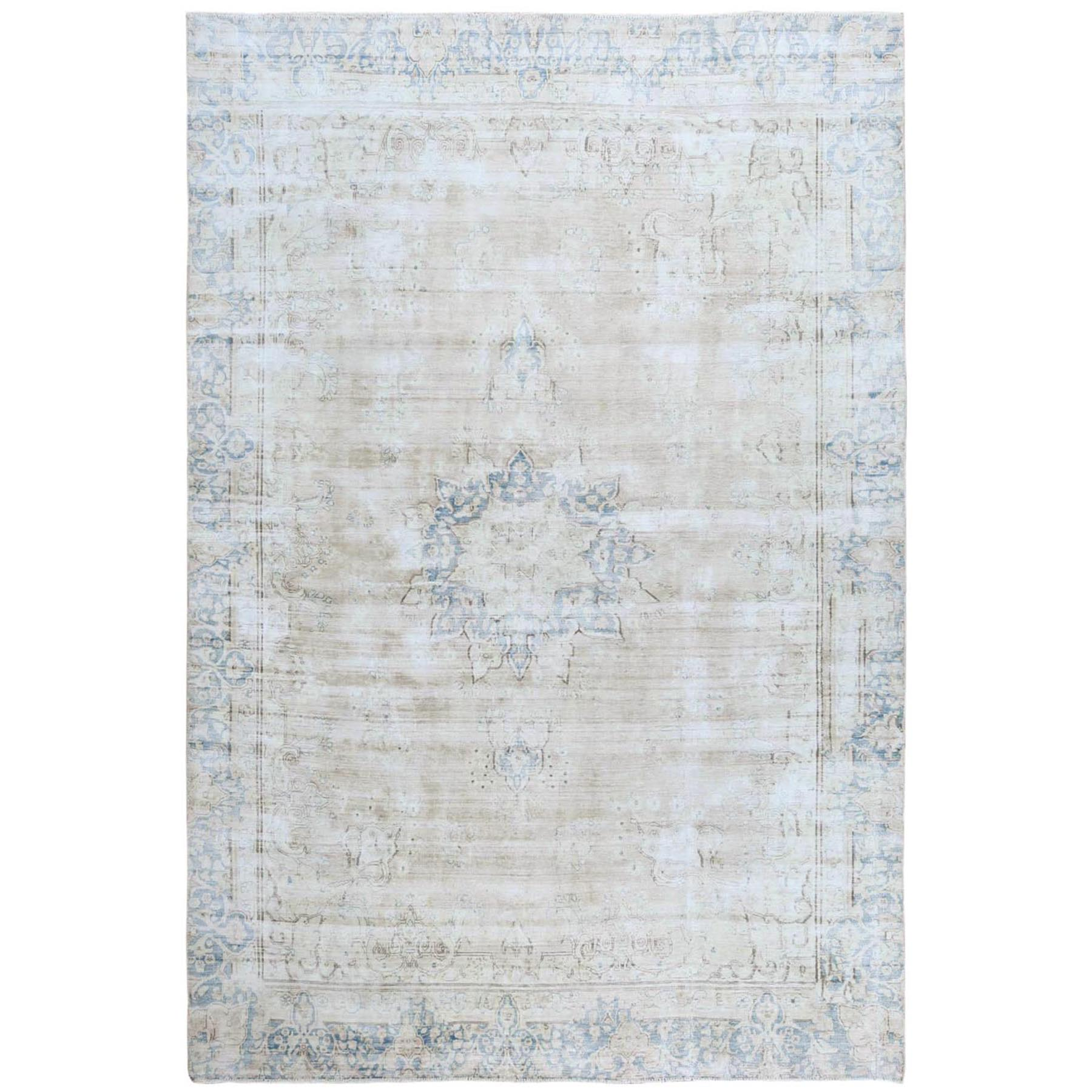 Overdyed & Vintage Rugs LUV543942