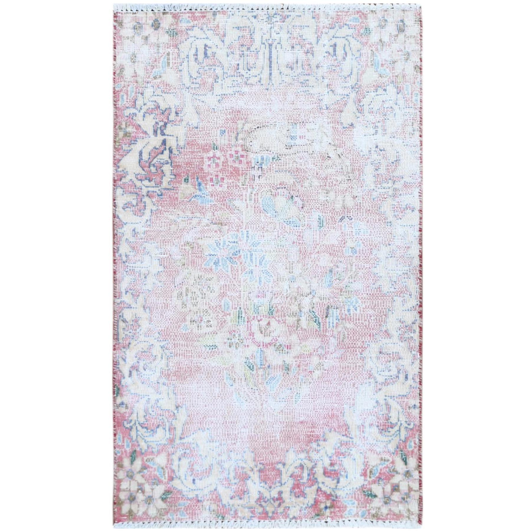 Overdyed & Vintage Rugs LUV544149