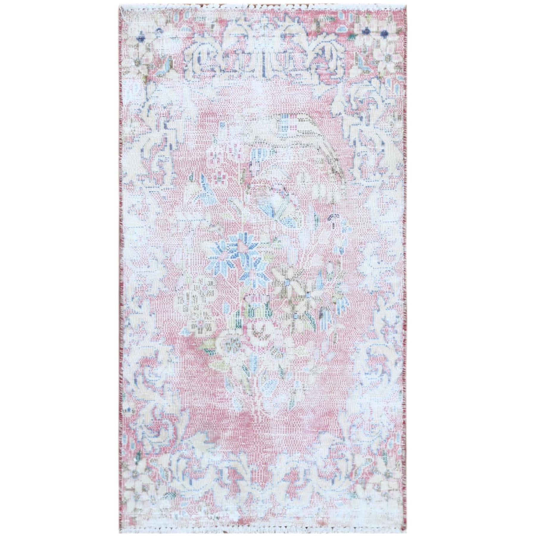 Overdyed & Vintage Rugs LUV544158