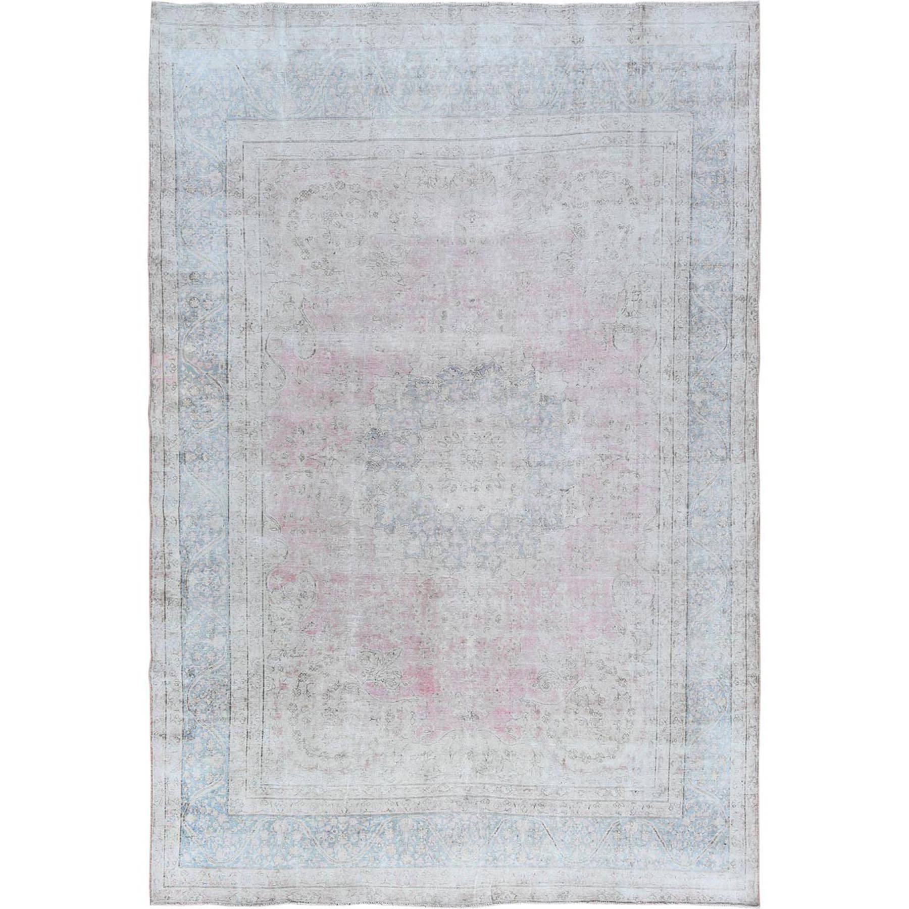 Overdyed & Vintage Rugs LUV544752