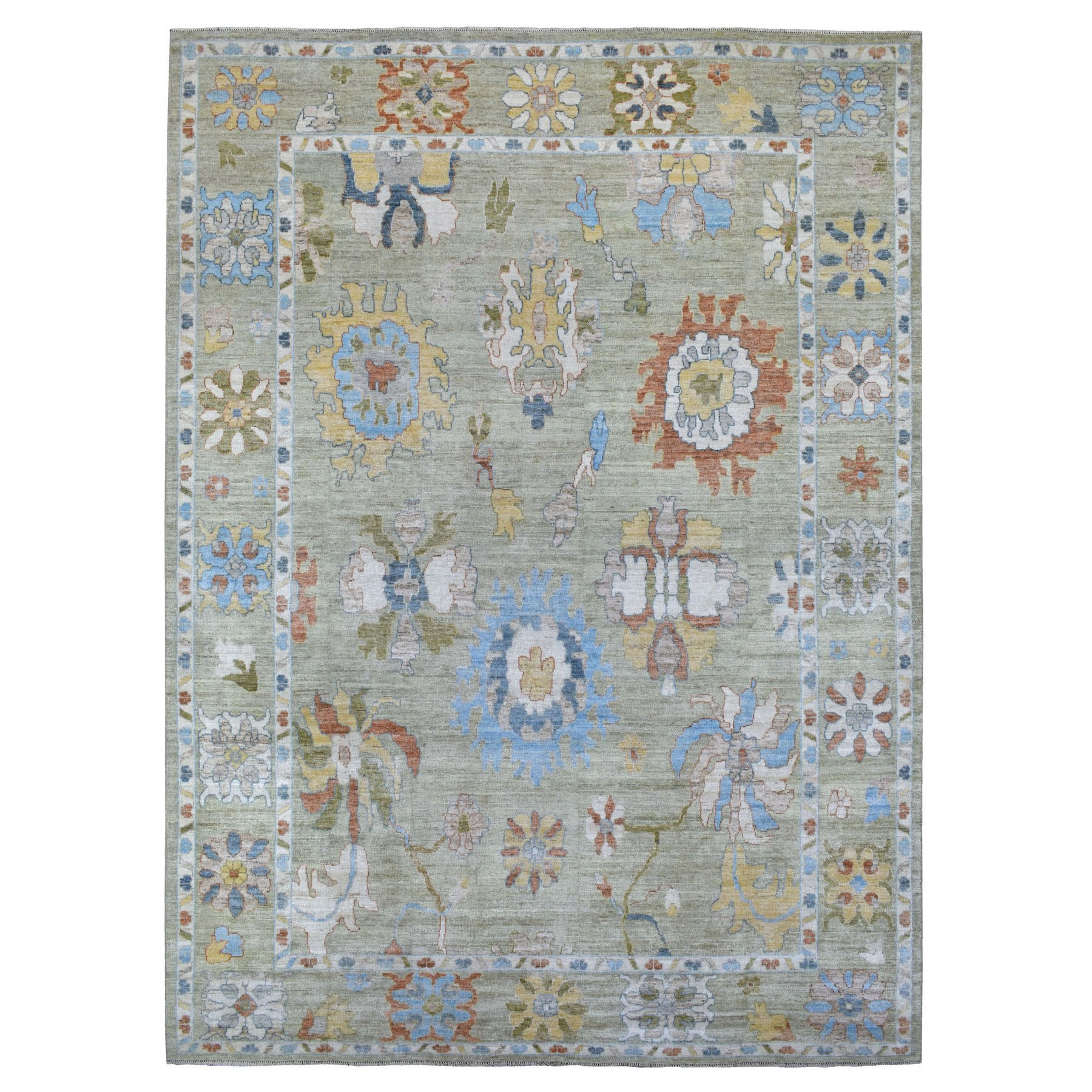 Oushak And Peshawar Rugs LUV606510