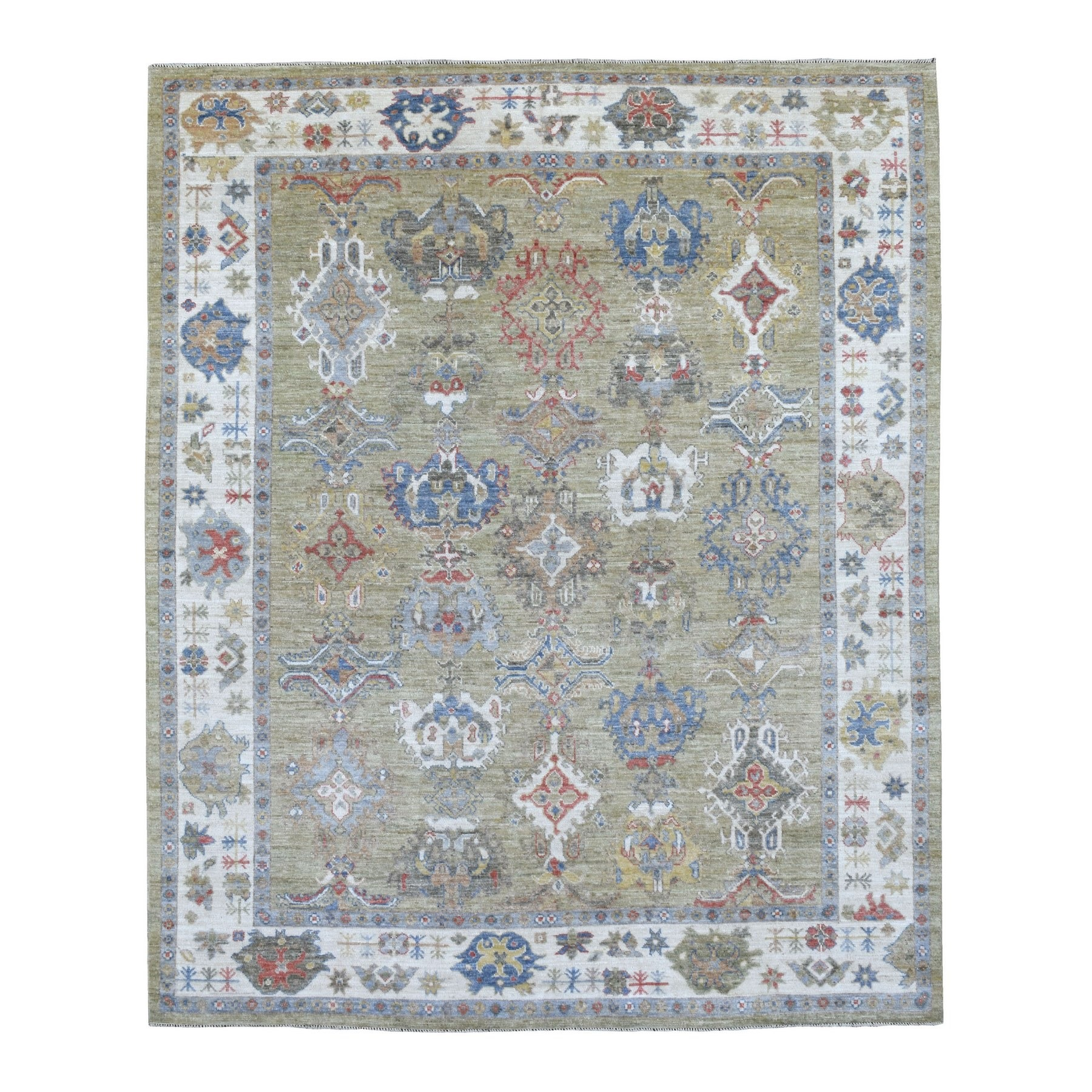 Oushak And Peshawar Rugs LUV607266