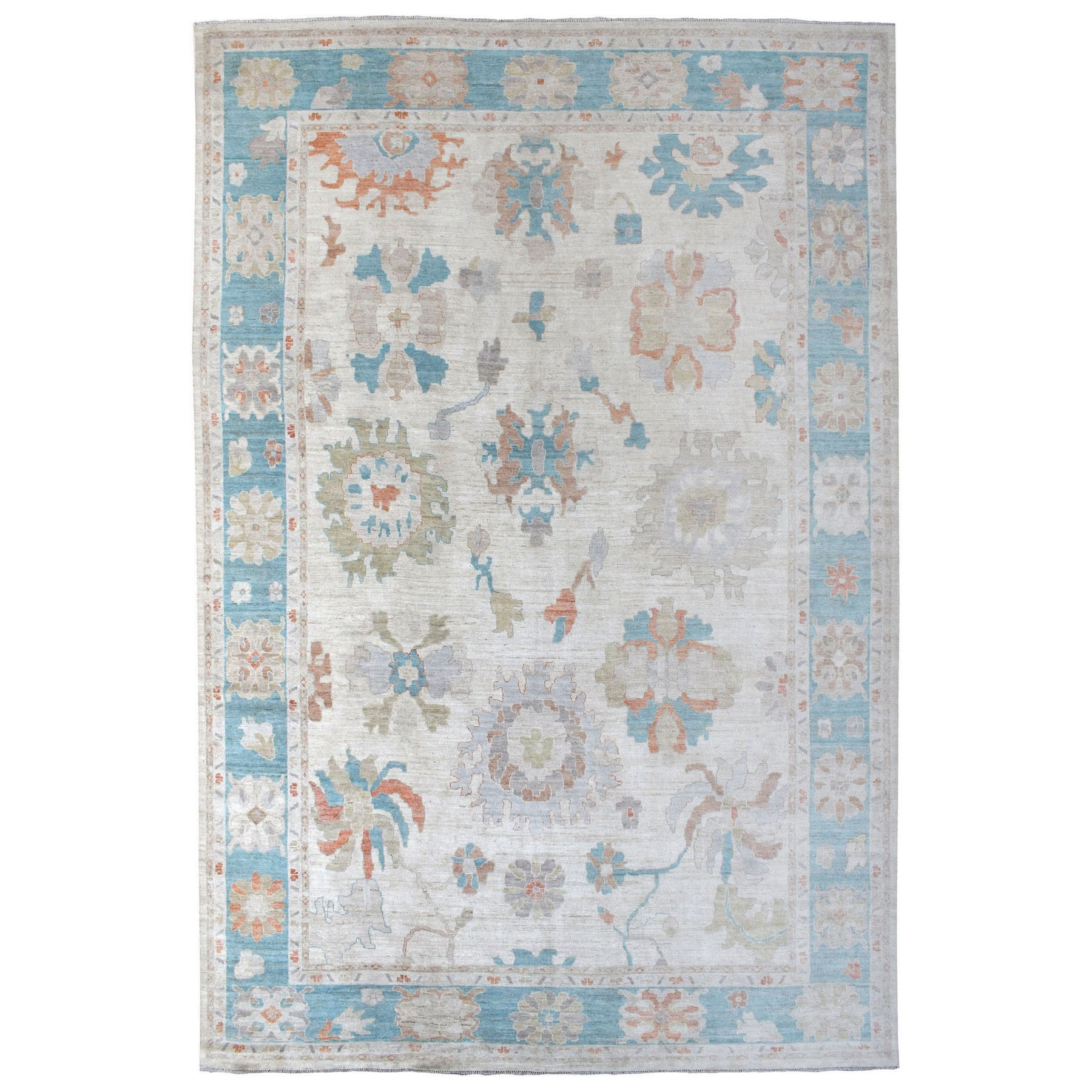 Oushak And Peshawar Rugs LUV607365