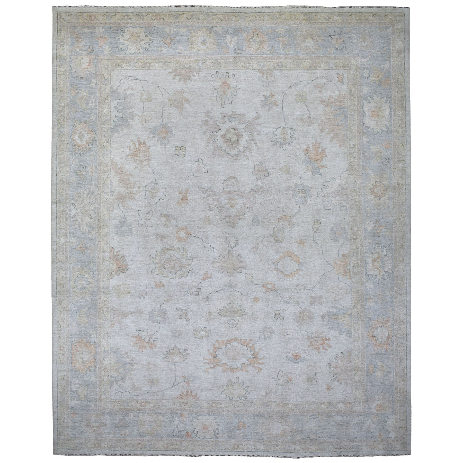 Oushak And Peshawar Rugs LUV608994