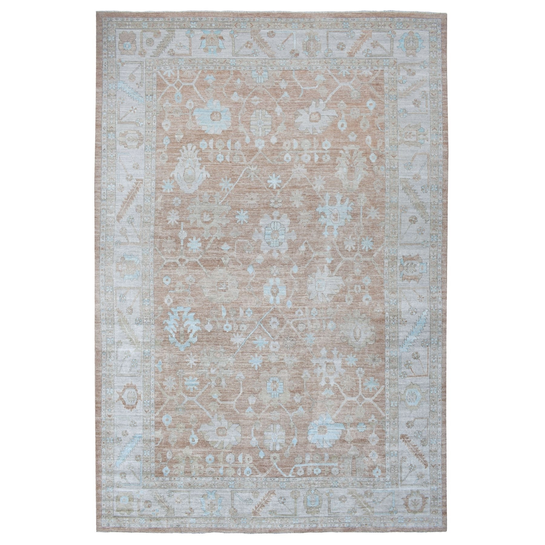 Oushak And Peshawar Rugs LUV609012