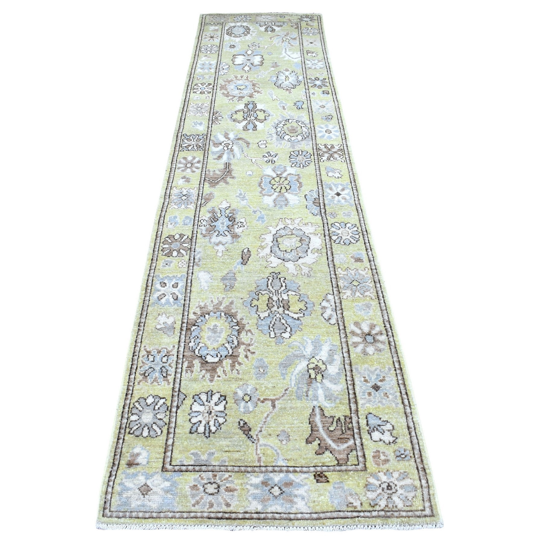 Oushak And Peshawar Rugs LUV609408
