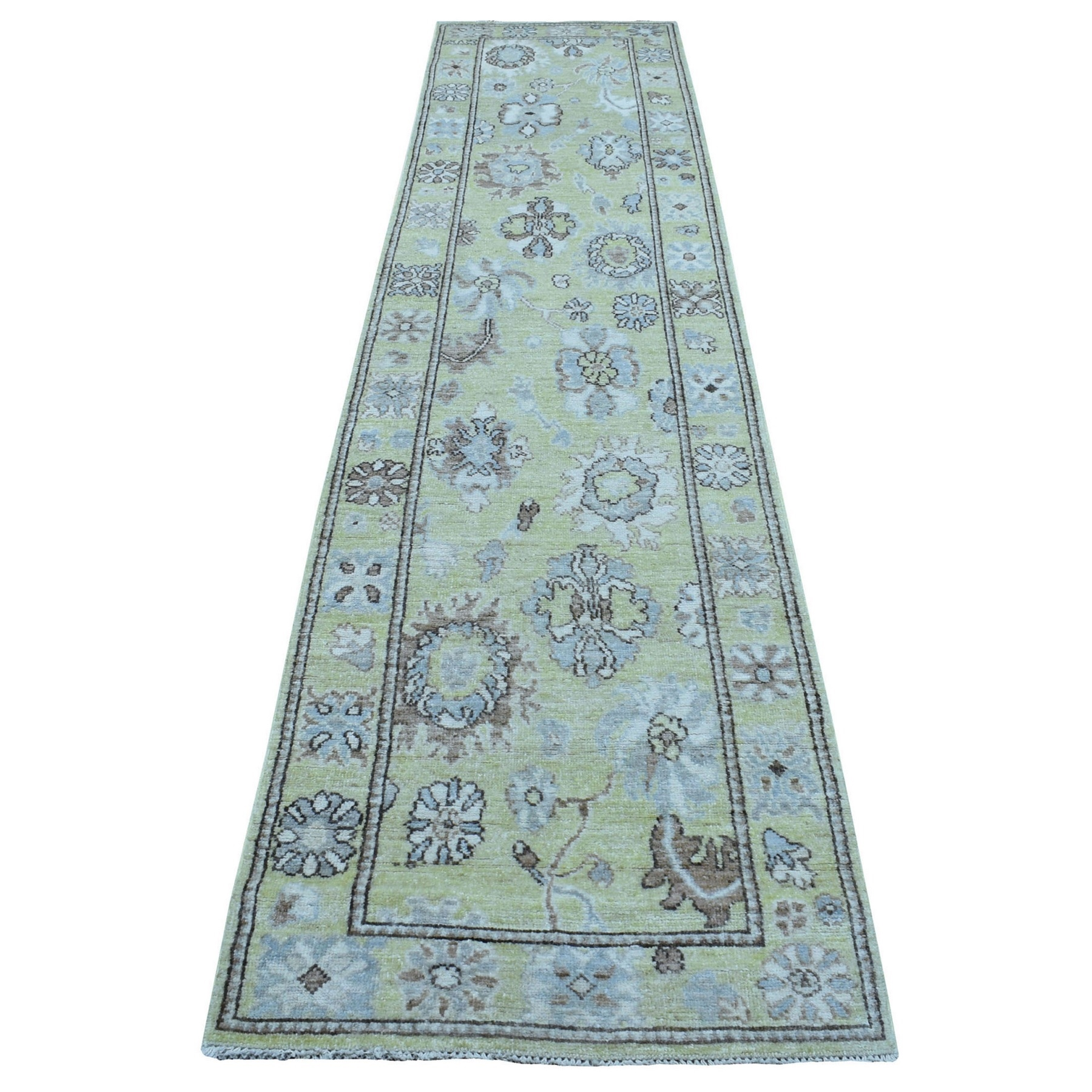 Oushak And Peshawar Rugs LUV609678
