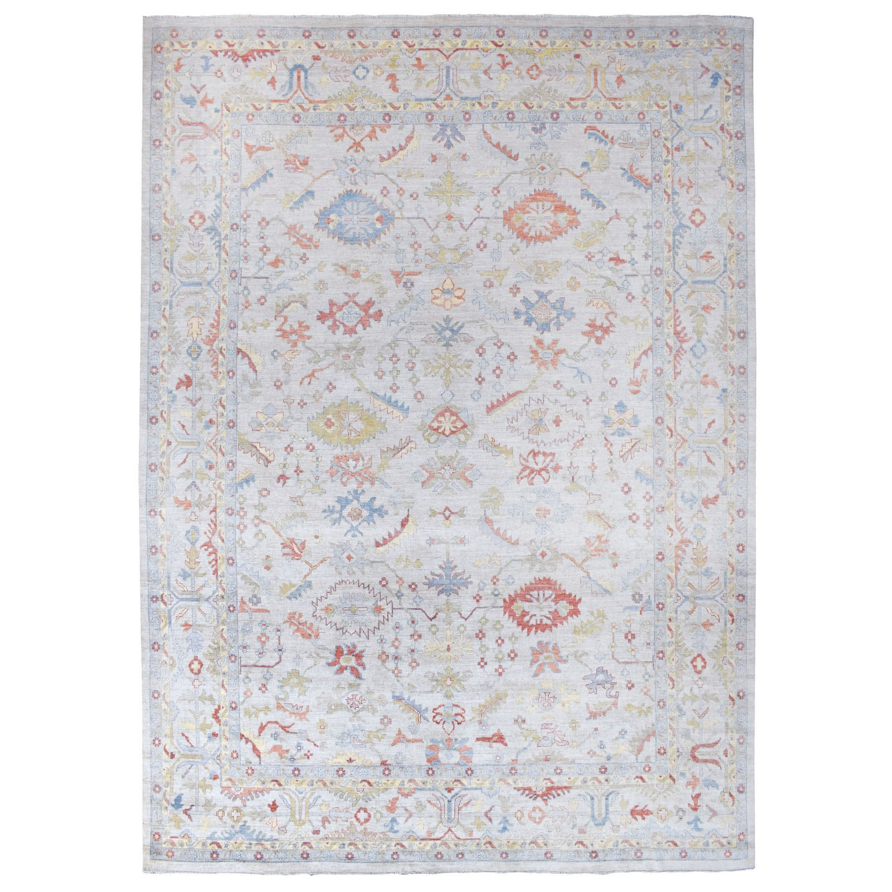 Oushak And Peshawar Rugs LUV609732