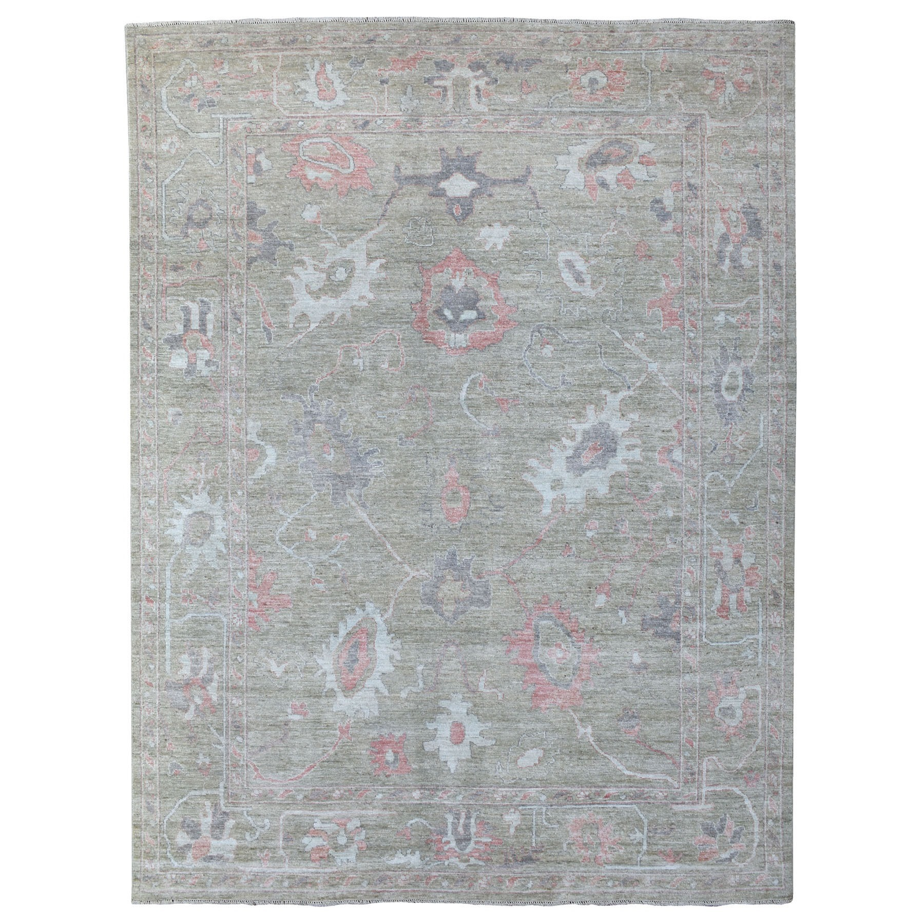 Oushak And Peshawar Rugs LUV609948